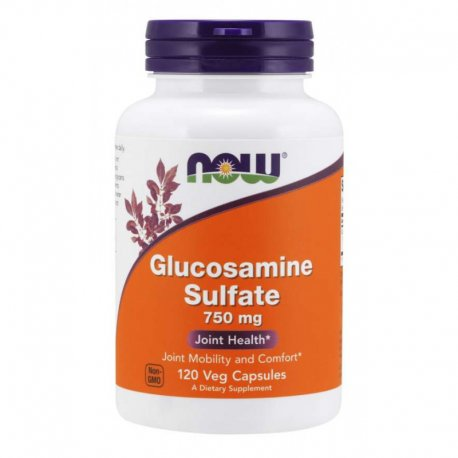 Glucosamine Sulfate 750 mg - 120 kaps Now Foods