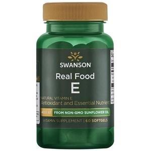 SWANSON Witamina E naturalna 400IU z oleju z pestek słonecznika