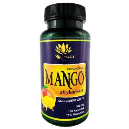 Yucca Mango Afrykańskie 520Mg 100 Kaps