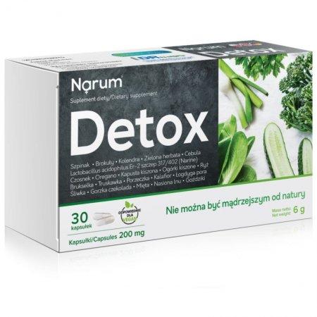 Narum Detox 200 mg 30 Kapsułek (NARINE)