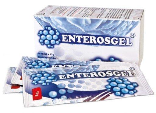 Enterosgel 10X15G Saszetki żel - Oczyszcza I Detoksykuje
