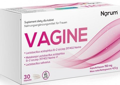 NARINE, Narum Vagine 150 mg 30 kapsułek