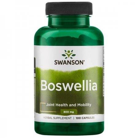Swanson Boswellia 400mg 100 kaps - suplement diety kadzidłowiec