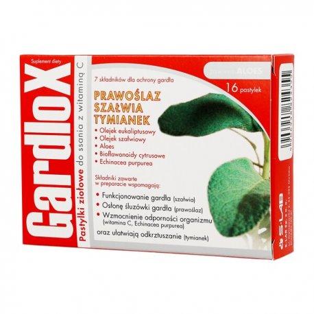 Gardlox Ziołowe pastylki smak wiśniowym