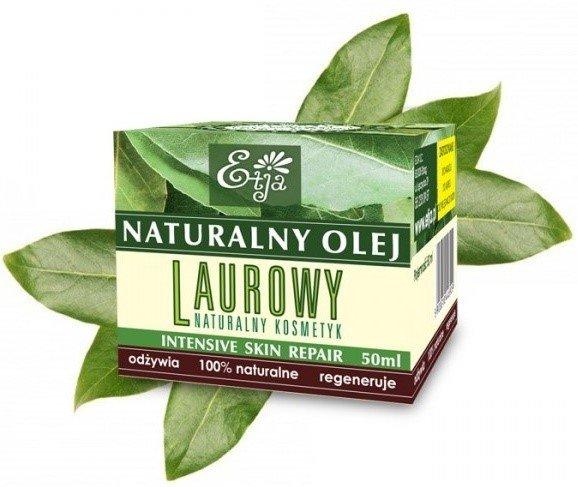 Etja Olej Laurowy 50Ml Wzmacnia Strukturę Włosów