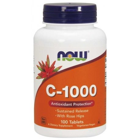 NOW FOODS VITAMIN C-1000 SUSTAINED RELEASE