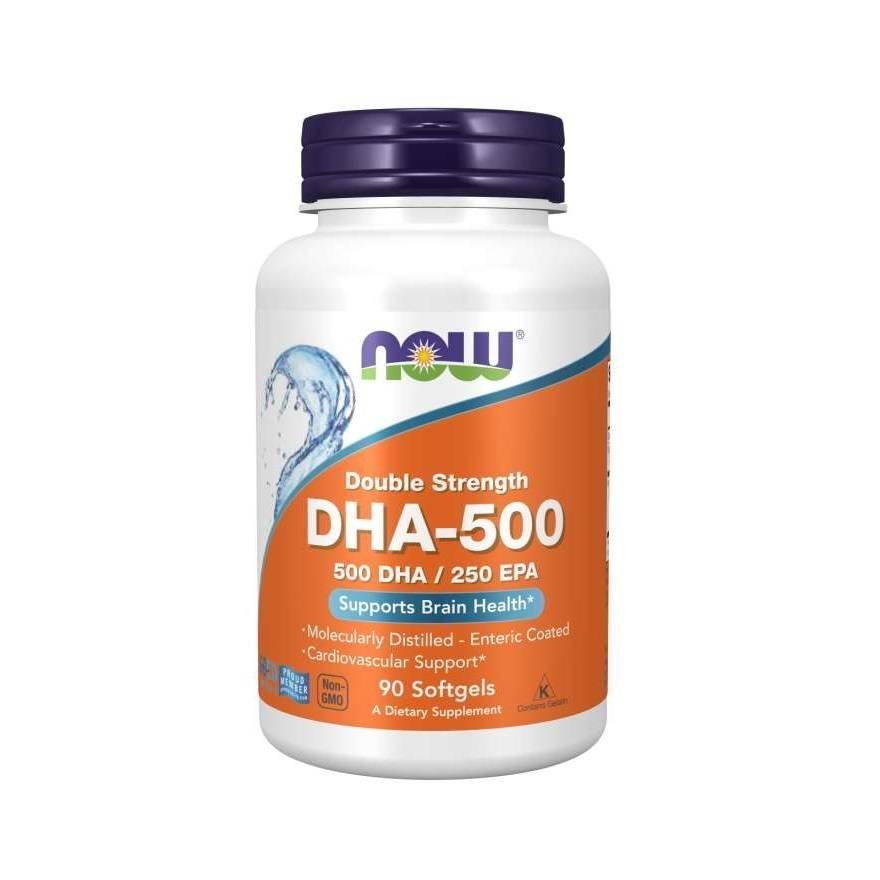 Now Foods DHA-500 90 kapsułek