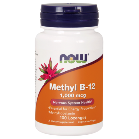 Now Foods Methyl B12 WITAMINA B-12 1000 METYLOKOBOALAMINA, 100 KAPS