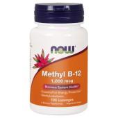Now Foods Methyl B12 WITAMINA B-12 1000 METYLOKOBOALAMINA, 100 KAPS