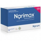 NARINE, Narimax Kapsułki 200Mg 30 Szt. Probiotyki