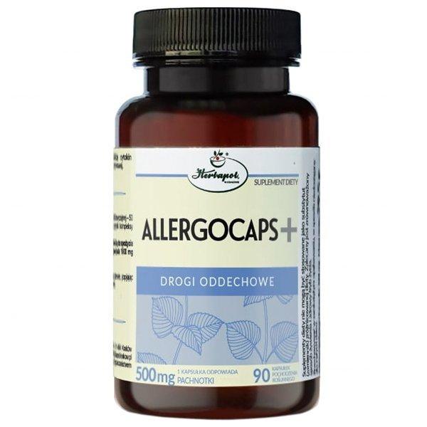 Allergocaps+ Pachnotka Zwyczajna 90 kaps. Herbapol