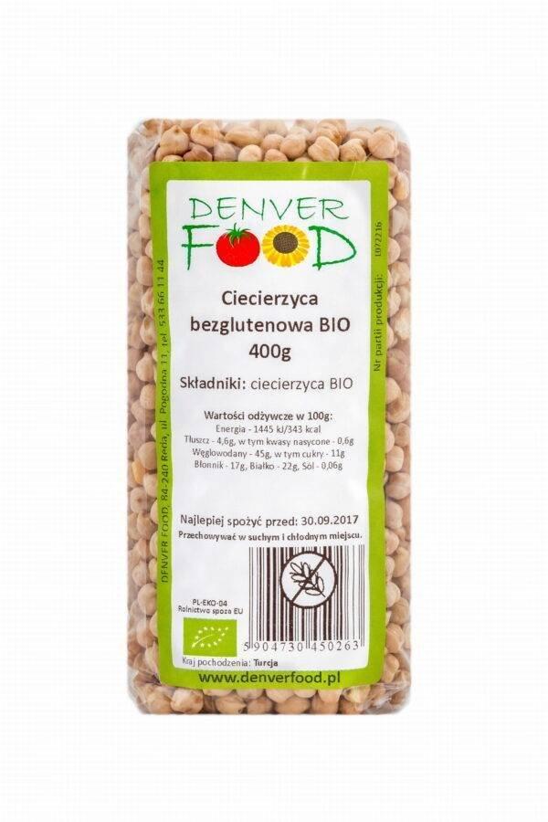 Ciecierzyca Bezglutenowa Bio 400g - Denver Food