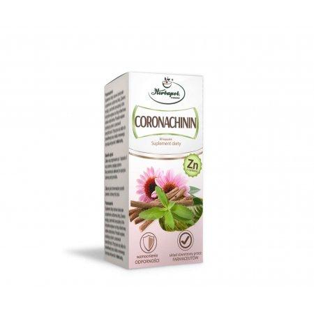Coronachinin z Cynkiem 30 kaps. Herbapol