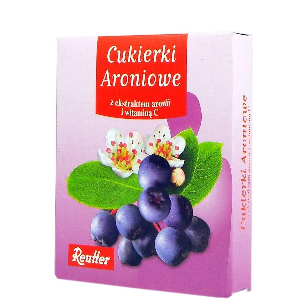Cukierki REUTTER Aroniowe z witaminą C 50g