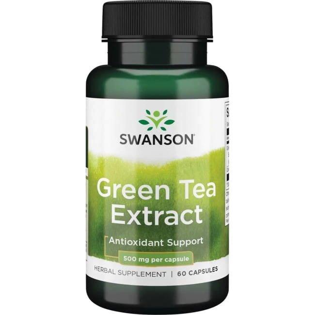 SWANSON GREEN TEA EXTRACT 500MG 60KAP.