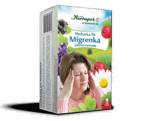 Herbata fix Migrenka 20x2g. Herbapol Kraków