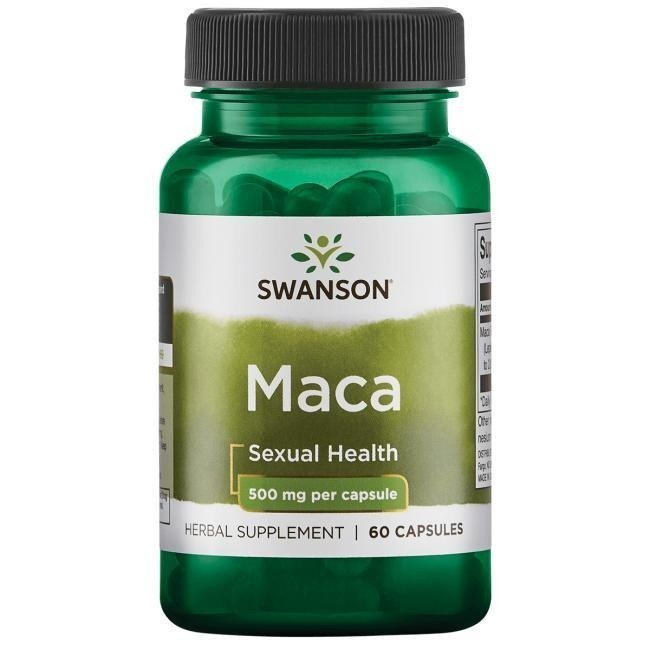 SWANSON MACA EXTRACT 500MG 60 KAP.