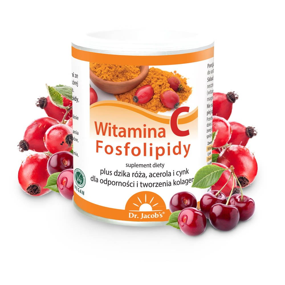 Dr. Jacob's Witamina C Fosfolipidy, 150 g