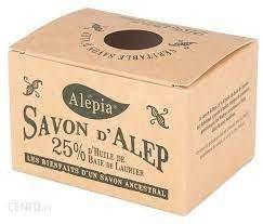 Alepia Mydło Aleppo 25% Laurowe 190G