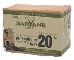 Saryane Mydło Z Aleppo 20% 200G