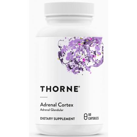 THORNE Adrenal Cortex - Wsparcie Nadnerczy - 60 kapsułek wegetariańskich