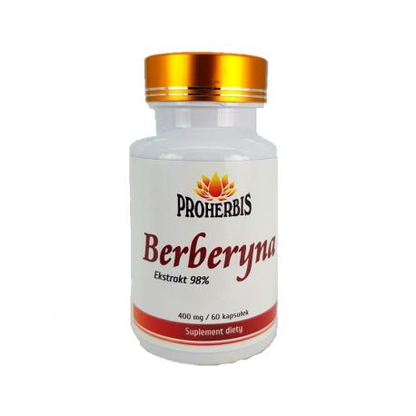 Yucca Berberyna HCL 98% 60 kapsułek