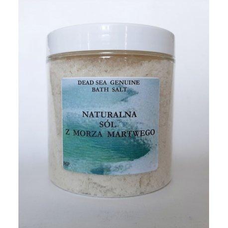 Sól kąpielowa naturalna MORZE MARTWE 1 kg