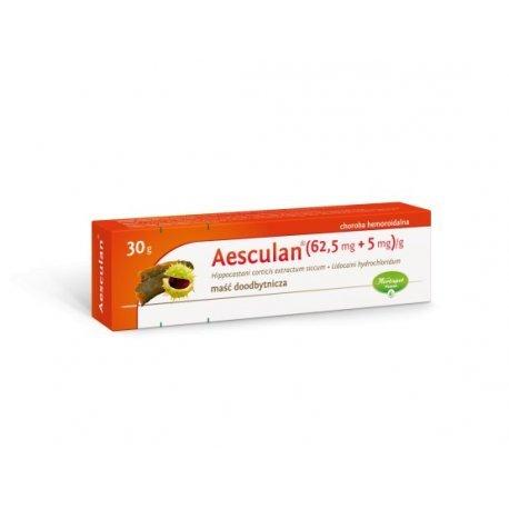 Aesculan maść doodbyt. (0,065g+5mg)/g 30 g