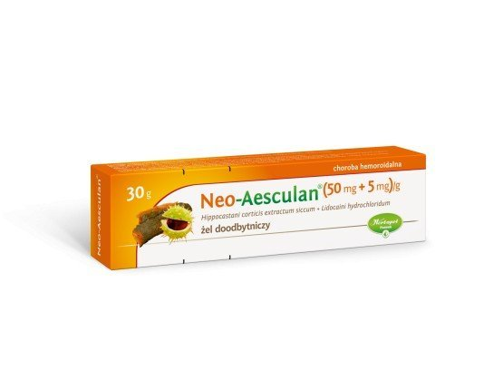 Neo-Aesculan żel doodbytniczy (0,04g+5mg)/g 30g